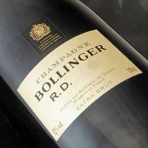 Champagne Bollinger RD 1985