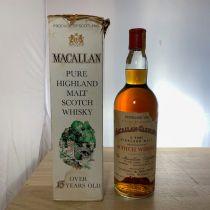 Whisky Macallan Pure Highland Malt 15 year old 1958 Bottle-70 cl
