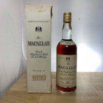 Whisky Macallan Pure Highland Malt 1959 Bottle-70 cl
