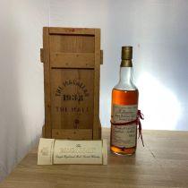 Whisky Macallan Single Highland Malt 1938 Bottle-70 cl
