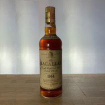 Whisky Macallan Single Malt 18 year old 1964 Bottle-70 cl