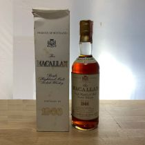 Whisky Macallan Single Malt 18 year old 1966 Bottle-70 cl