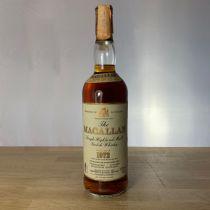 Whisky Macallan Single Malt 18 year old 1972 Bottle-70 cl
