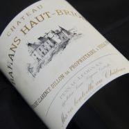 Château Bahans Haut Brion 1991