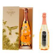 Champagne Perrier Jouet La Belle Epoque Rose Edition Vik Muniz Coffret 2005