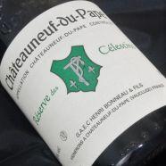 Henri Bonneau CDP Rouge Reserve des Celestins 1989