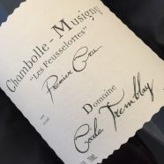 Domaine Cecile Tremblay Chambolle Musigny Les Feusselottes 2007