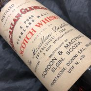 Whisky Macallan Pure Highland Malt 15 ans 1958 bouteille 70 cl