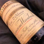 Domain Weinbach Gewuztraminer Altenbourg Quintessence de Grains Nobles Cuvee Or 1997 Bottle-50 cl