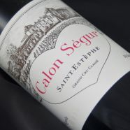 Chateau Calon Segur 1982  THE