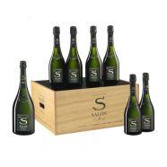 Champagne Salon Caisse Oenothèque- 1 Magnum 2008, 2 Bouteilles de 2007, 2006 et 2004 2008 magnum
