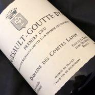Domaine Comtes Lafon Meursault Goutte d Or 2015