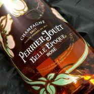 Champagne Perrier Jouet La Belle Epoque Rose 1978