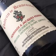 Beaucastel CDP Rouge Hommage a J Perrin 1995 magnum