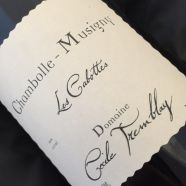 Domain Cecile Tremblay Chambolle Musigny Les Cabottes 2017